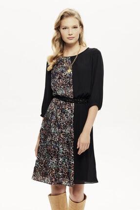 Naramaxx Piliseli Kontrast Detaylı Elbise