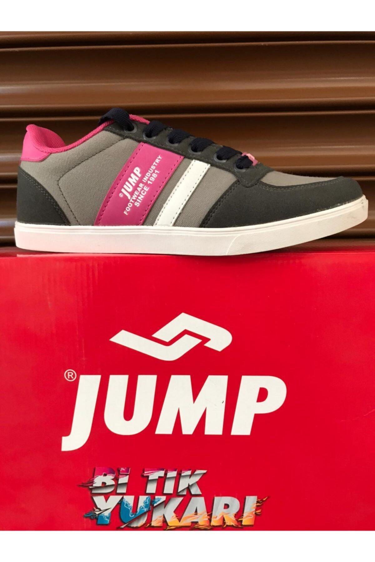 Jump Kadın Gri  Yürüyüş Ayakkabısı 1