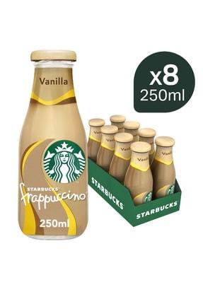 Starbucks Frappuccino Vanilla Aromalı 250 ml x 8 adet