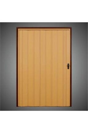 Penguen Akordiyon Katlanır Kapı 12 mm Meşe Camsız En 132 cm  Boy 220 cm