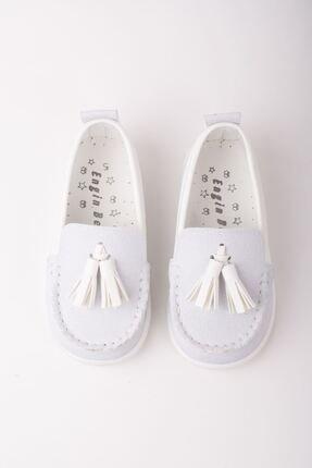 epaavm Erkek Beyaz Püsküllü Ayakkabı
