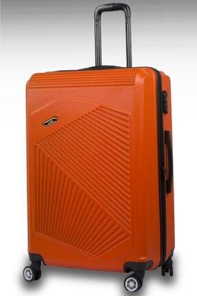 NK 1125 Abs Sert Kabuk Dayanıklı Büyük Boy Bavul Valiz
