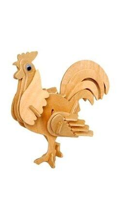 Wooden Toys Horoz 3d Ahşap Puzzle