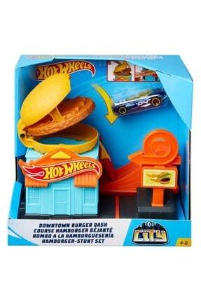 HOT WHEELS Şehir Otoparkı Oyun Setleri Burger