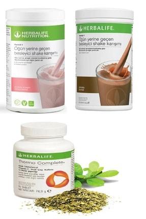 Herbalife Ahududu Beyaz Çikolata Shake , Çikolata Shake ve Thermo Complete