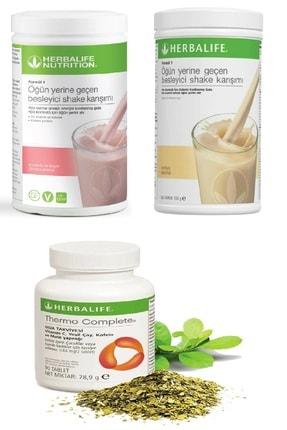 Herbalife Ahududu Beyaz Çikolata Shake Vanilya Shake Ve Thermo Complete