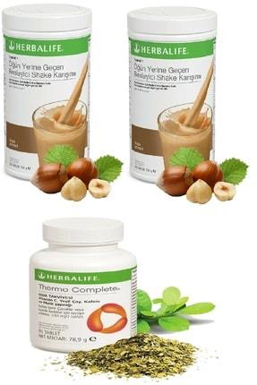 Herbalife 2 Adet Fındık Shake ve Thermo Complete