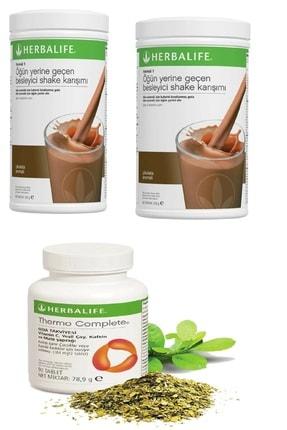 Herbalife 2 Adet Çikolata Shake Ve Thermo Complete