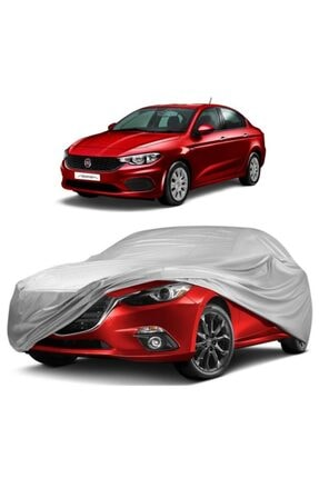 CoverPlus Fiat Egea Sedan Araba Brandası Miflonlu  Oto Çadır Örtü