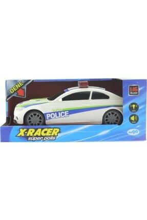 MEGA Sürtmeli Sesli Ve Işıklı Polis Arabası