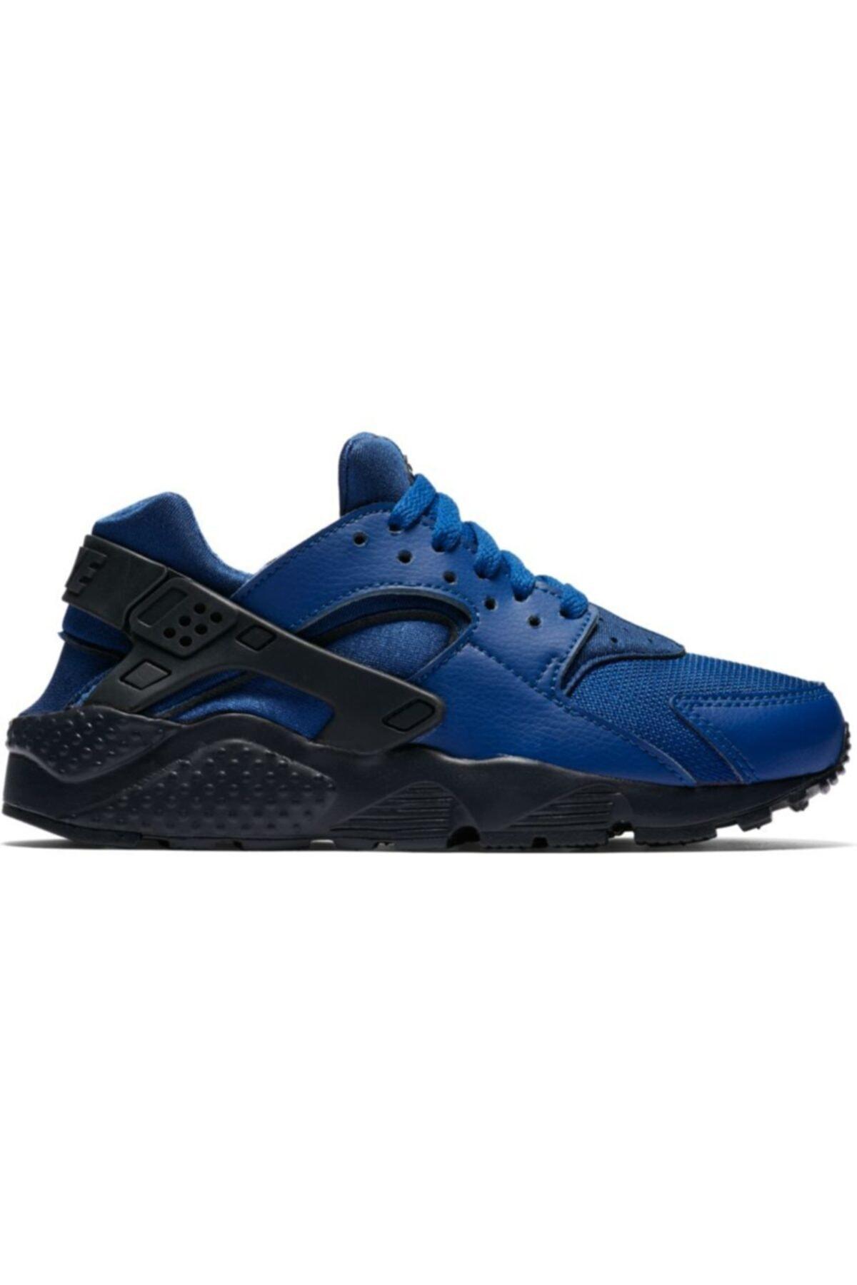 Nike Kadın Lacivert Huarache Run Spor Ayakkabı 654275-412 1