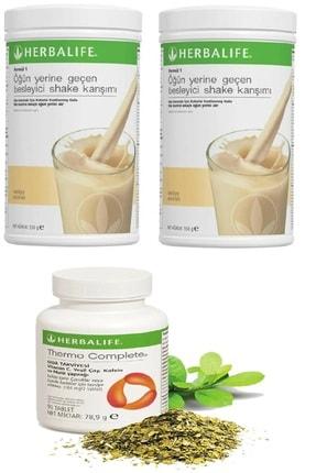 Herbalife 2 Adet Vanilya Shake Ve Thermo Complete