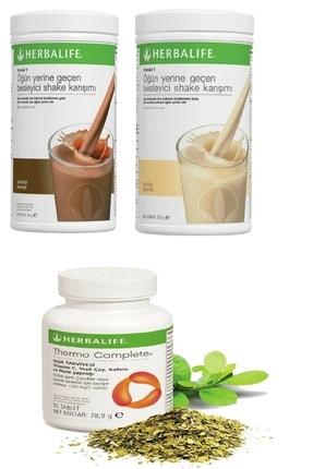 Herbalife Çikolata Shake Ve Vanilya Shake Ve Thermo Complete