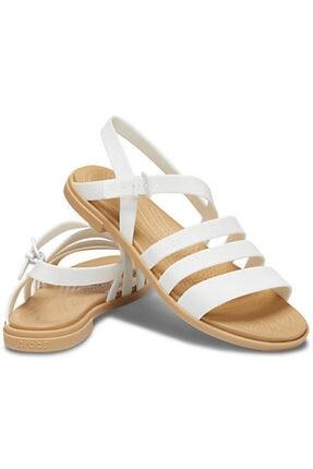 Crocs Kadın Beyaz Tulum Sandalet