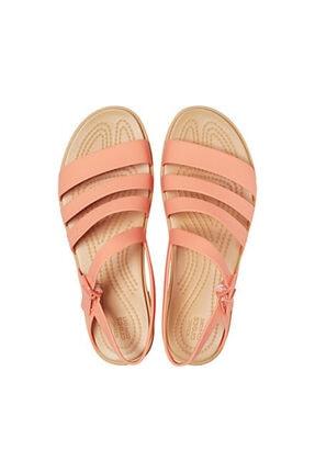 Crocs Kadın Turuncu Tulum Sandalet