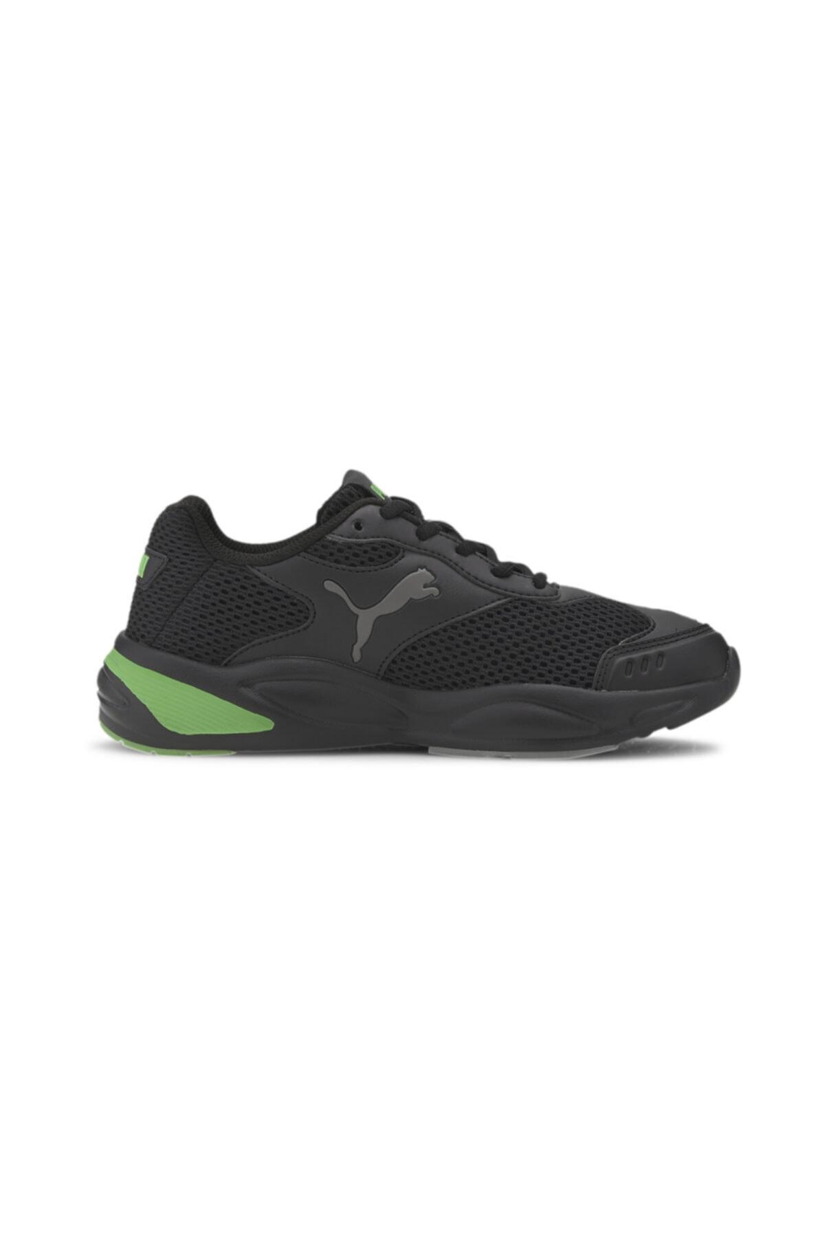 Puma Kadın Siyah 90s Runner Mesh Jr  Ayakkabı 37292605 1