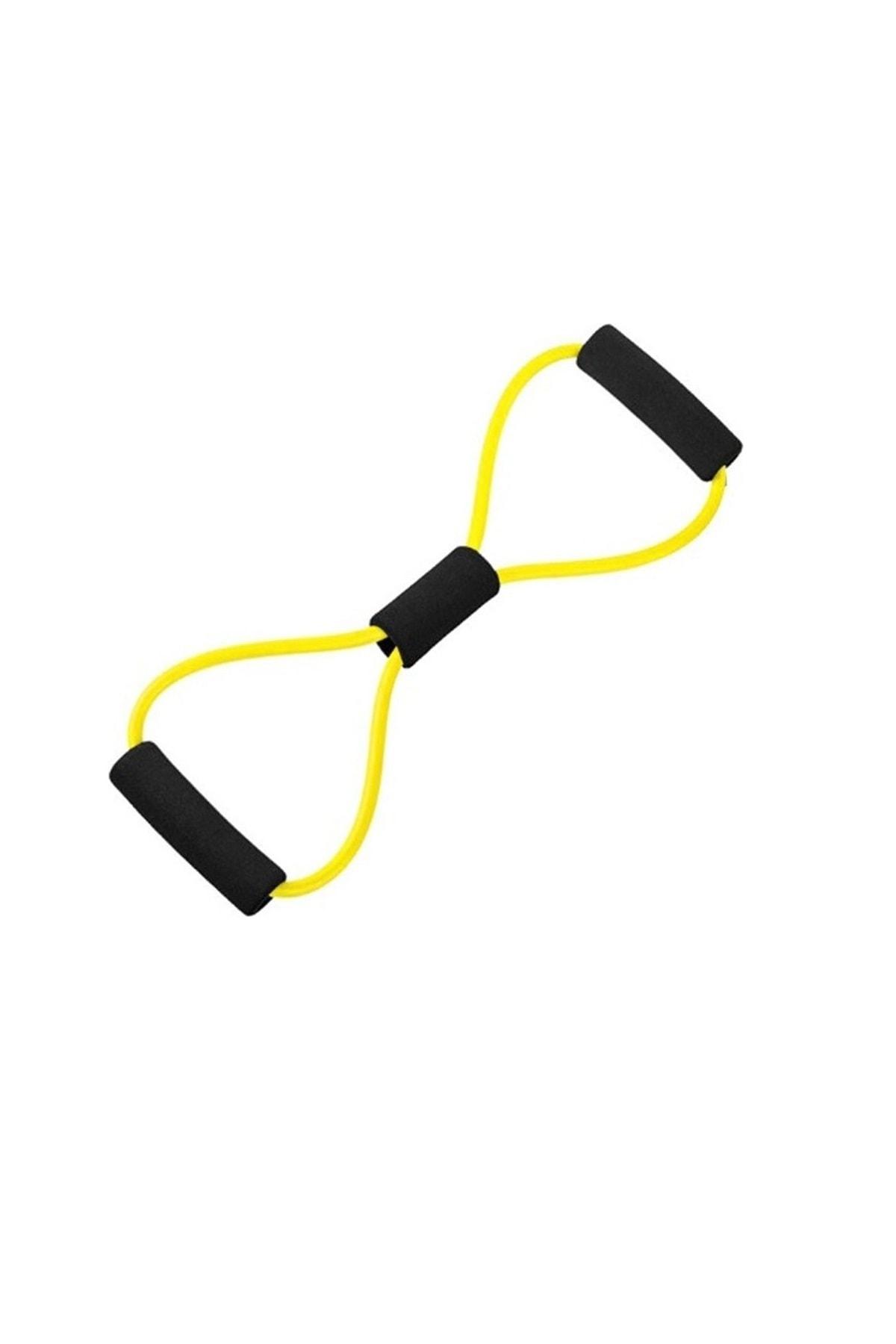 AVESSA Ayak Göğüs Lastiği Pilates Yoga Egzersiz Direnç Jimnastik Lastiği 1