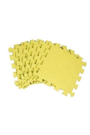 moniev Eva Yer Karosu 6 Adet Sarı Puzzle Oyun Karosu Çocuk Oyun Yer Matı