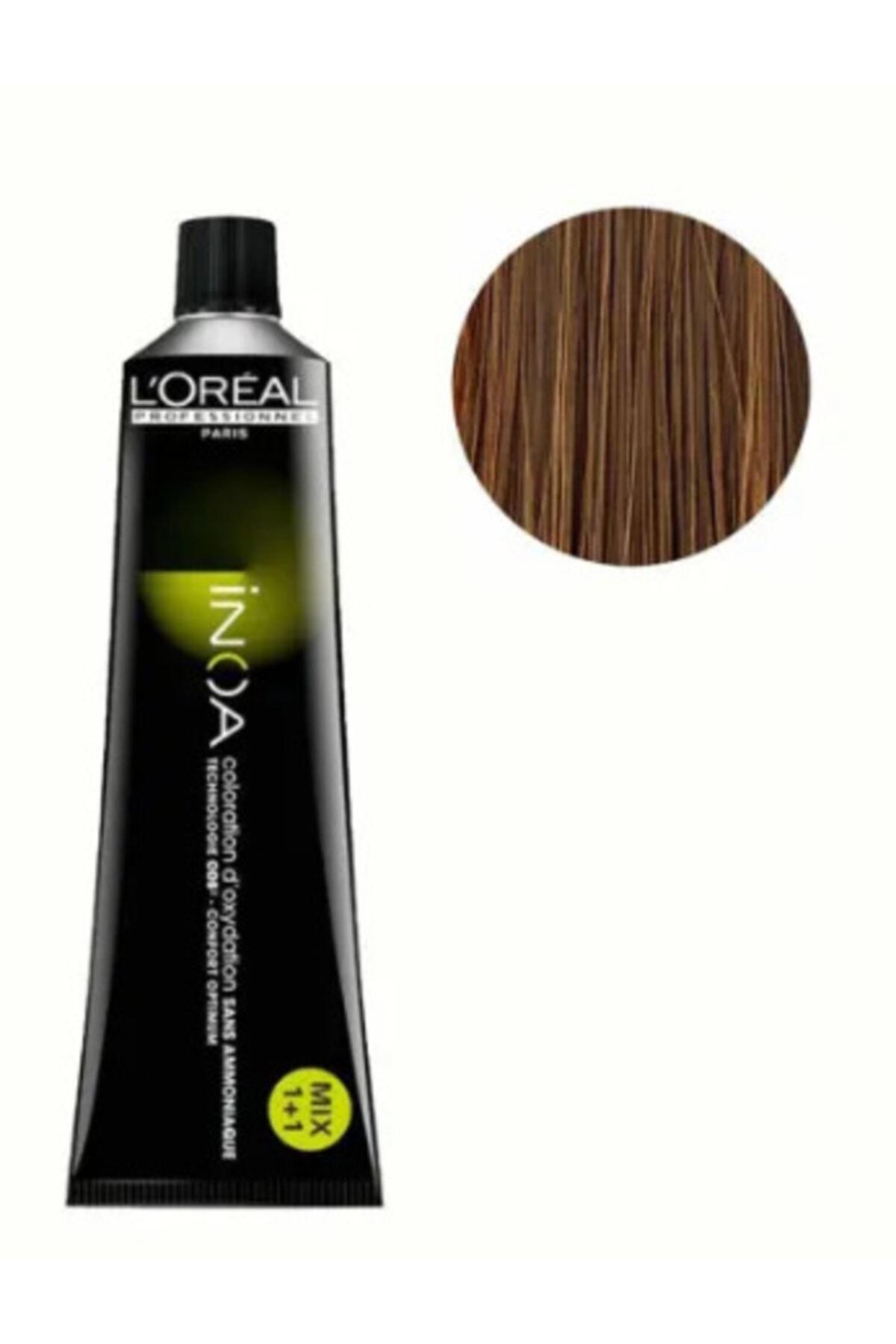 L'oreal Professionnel L'oreal Professional Inoa Saç Boyası 8,0 Renk Yoğun Koyu Sarı 1