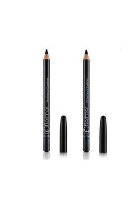 Flormar Siyah Eyeliner - Waterproof Eyeliner 101 Black Ice 2 Adet