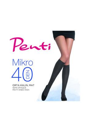 Penti Mikro 40 Dizaltı Çorap 6'lı