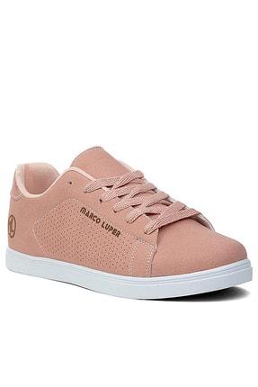 Giyyin Pudra Beyaz Kadın Sneaker