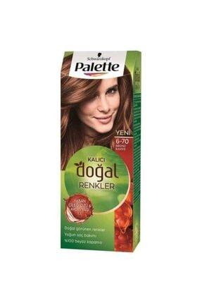 Palette Kalıcı Doğal Renkler Saç Boyası 6-70 50 Ml