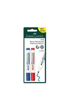 Faber Castell Mavi Kırmızı W20 Tahta Kalemi
