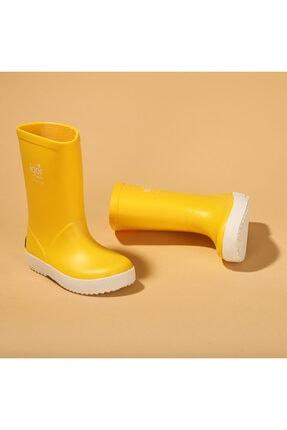 IGOR Çocuk Sarı Su Geçirmez Yağmur Kar Çizmesi