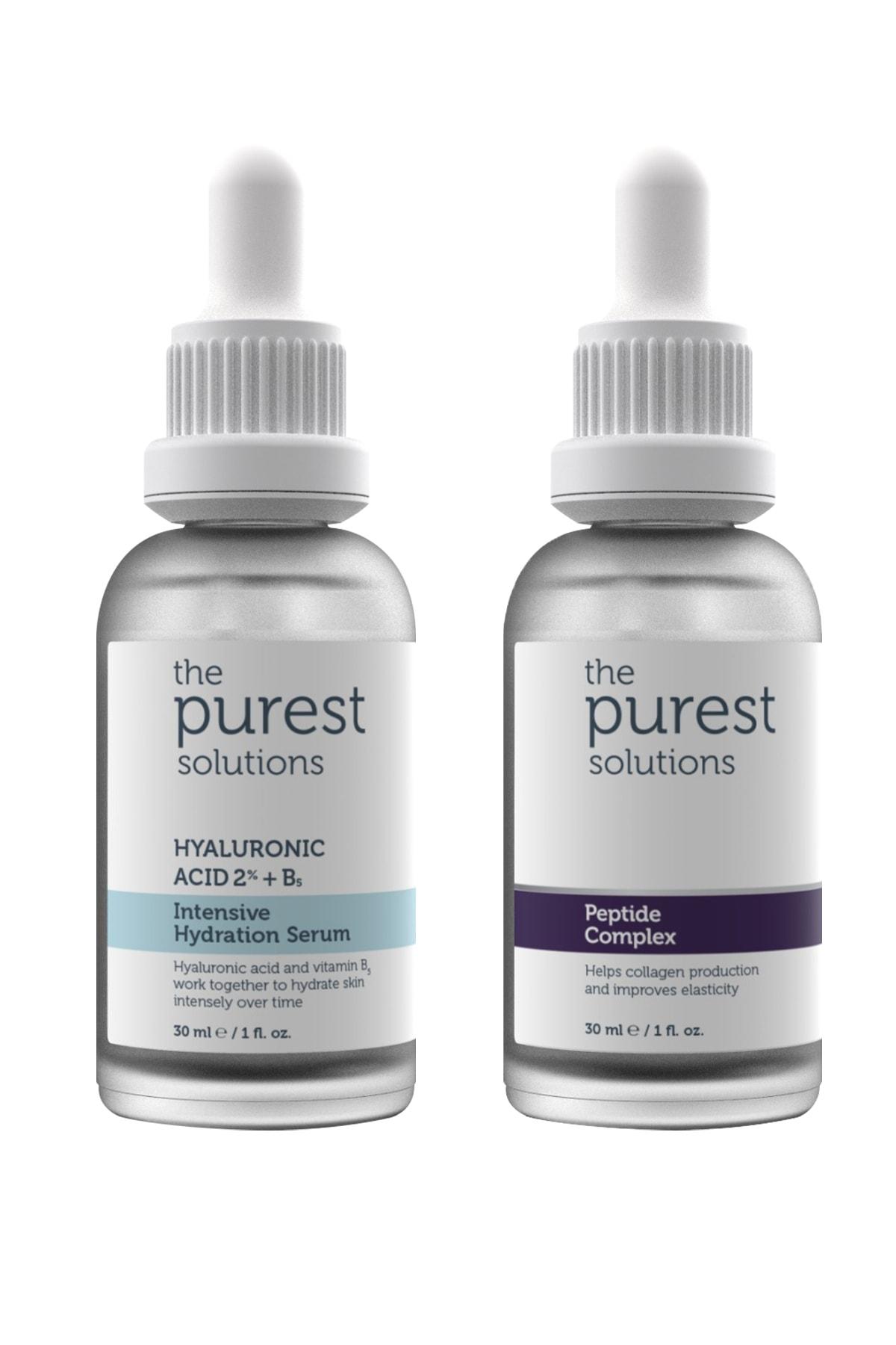 The Purest Solutions Yoğun Nemlendirme Ve Kırışıklık Karşıtı Onarıcı Bakım Seti 2