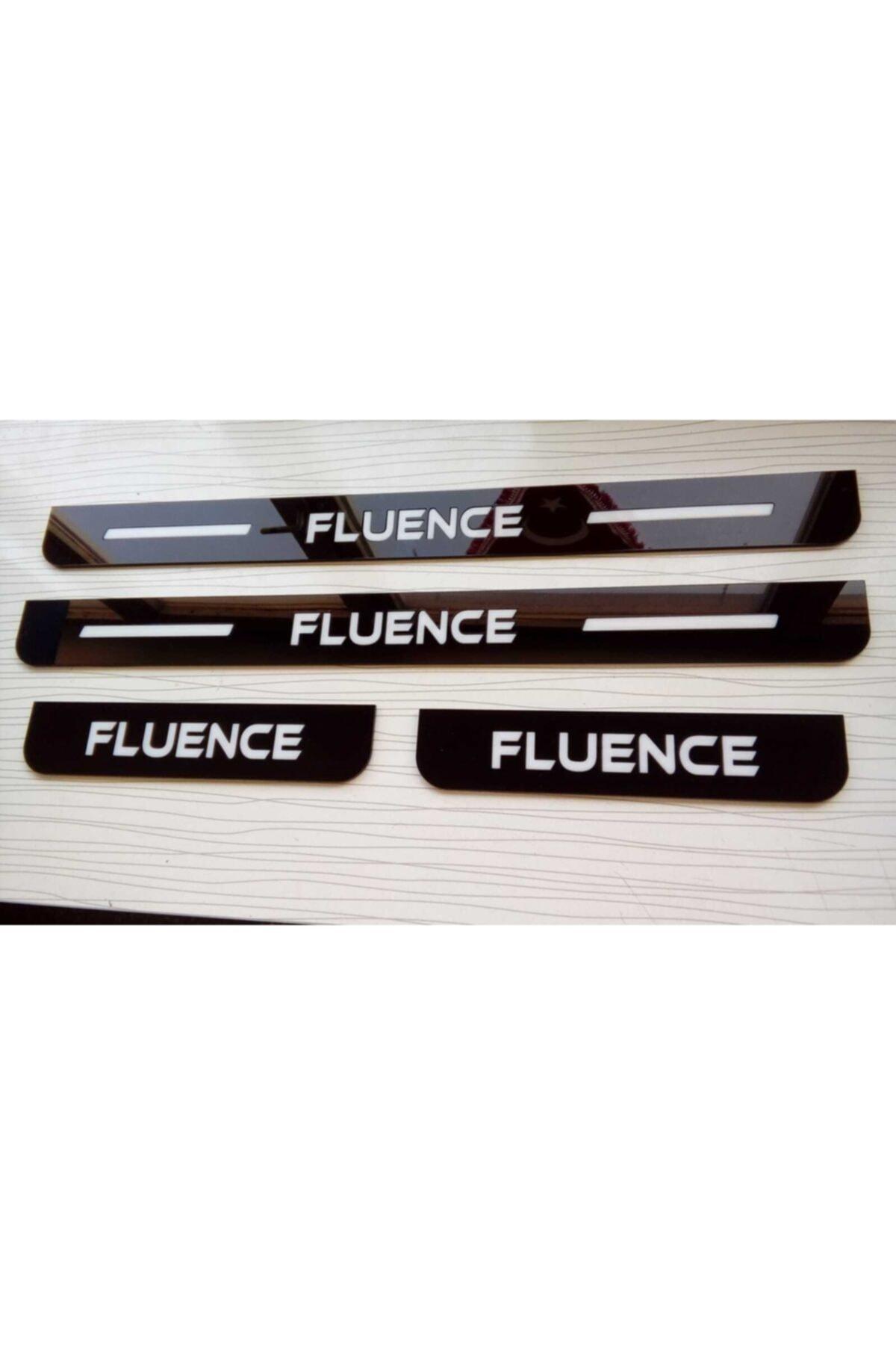 3M Renault Fluence 2006-2010 Uyumlu Lazer Kesim Pleksi Kapı Eşiği 1