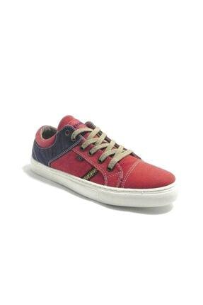 Kinetix Kadın Kırmızı Bağcıklı Sneaker Ayakkabı