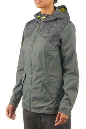 QUECHUA BY DECATHLON JACKET NH100 WOMAN KAKI
