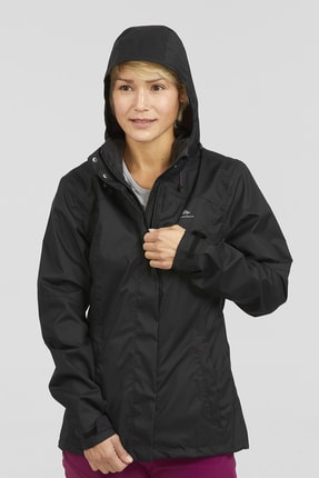 QUECHUA BY DECATHLON JACKET MH100 BLACK W