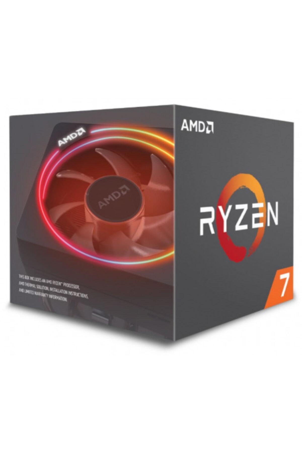 Amd Ryzen 7 2700x 8 Core, 3,70-4.30ghz 105w Rgb Led Wraith Prizma Fan Am4 Box 1