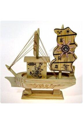 Ahşap Yelkenli Gemi Maketi Müzikli
