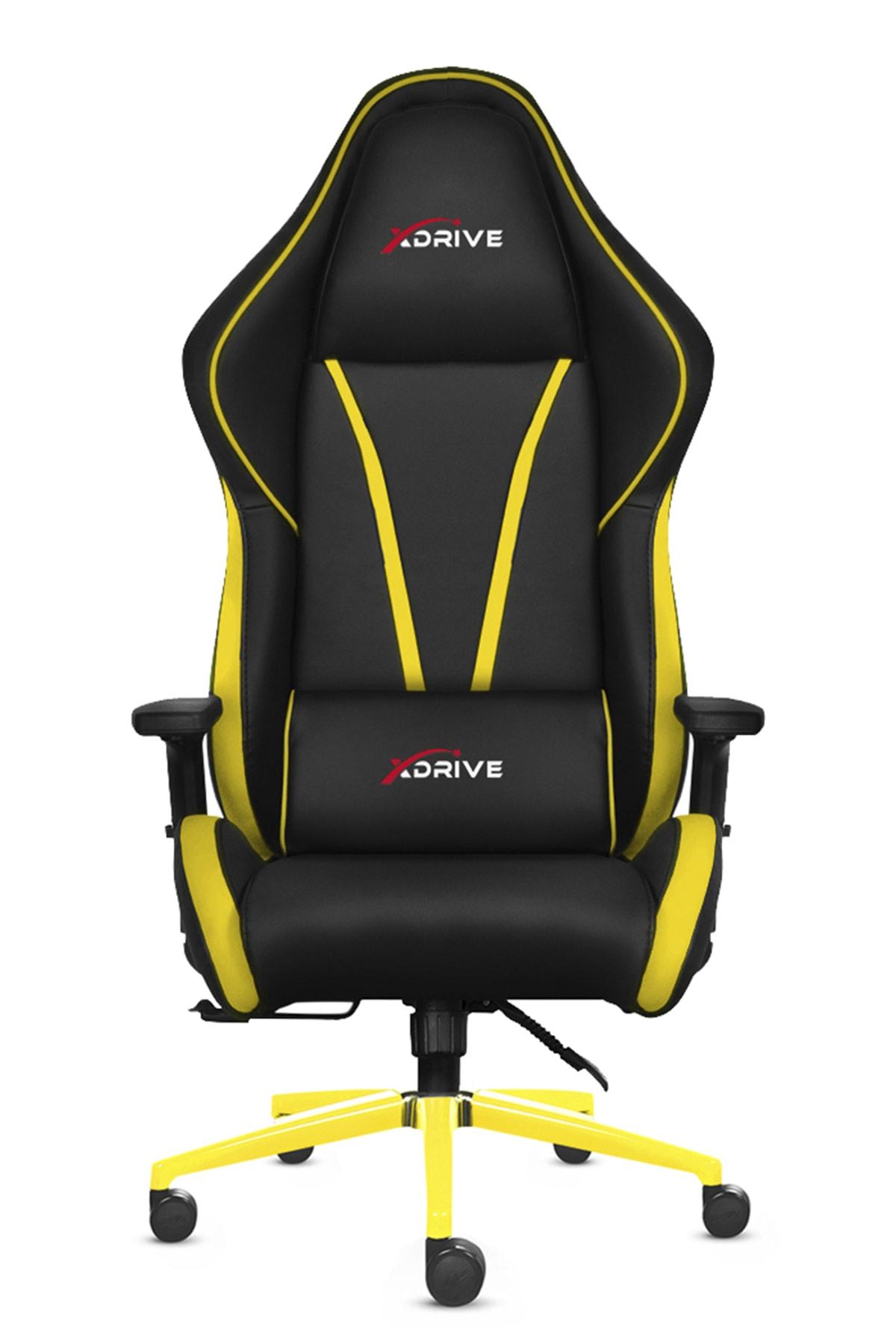 XDrive Sancak Profesyonel Oyun   Oyuncu Koltuğu Bilgisayar Koltugu Sarı/Siyah 1