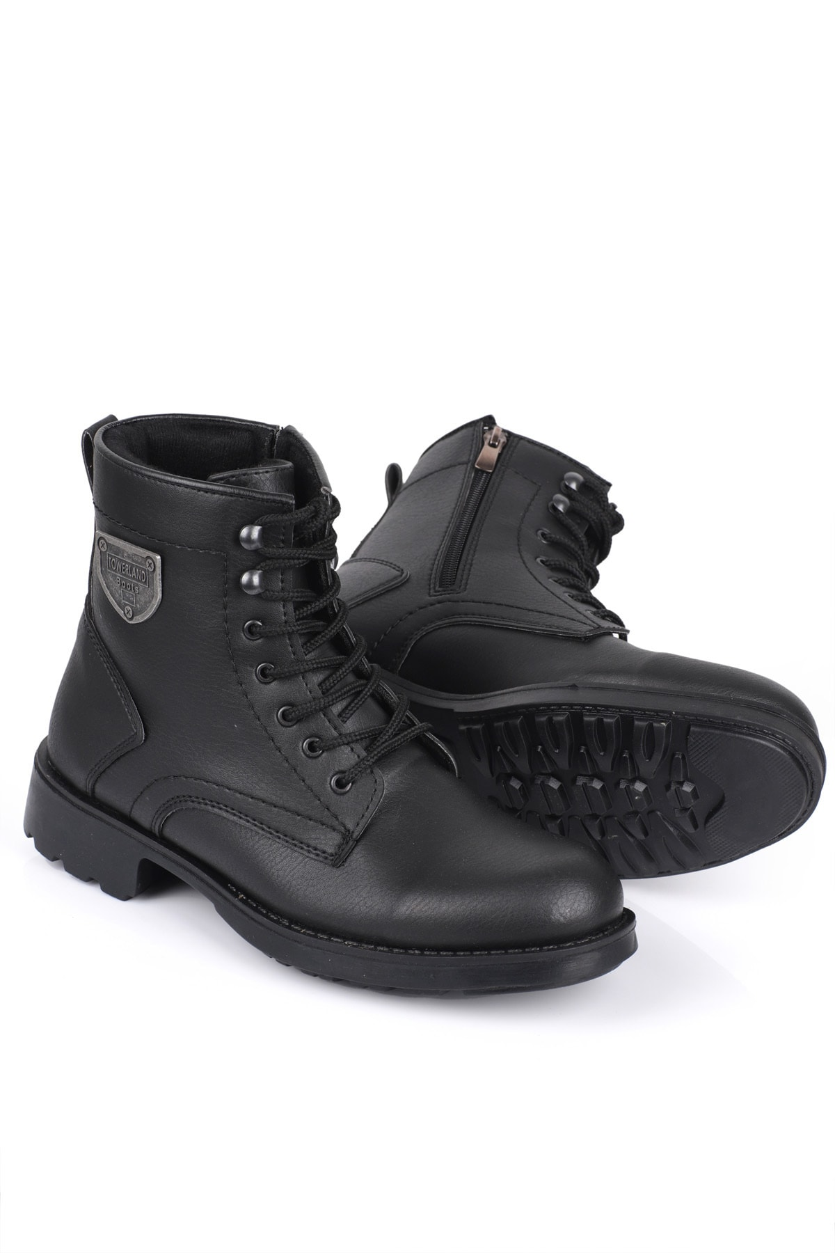 Daxtors Erkek Siyah Kışlık Kar Botu D00655 2