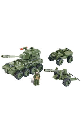 BLX Yapım Seti : Askeri Tank J5821a