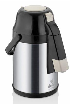 Remetta Caldo Delux 4.5 Litre Çelik Termos-siyah