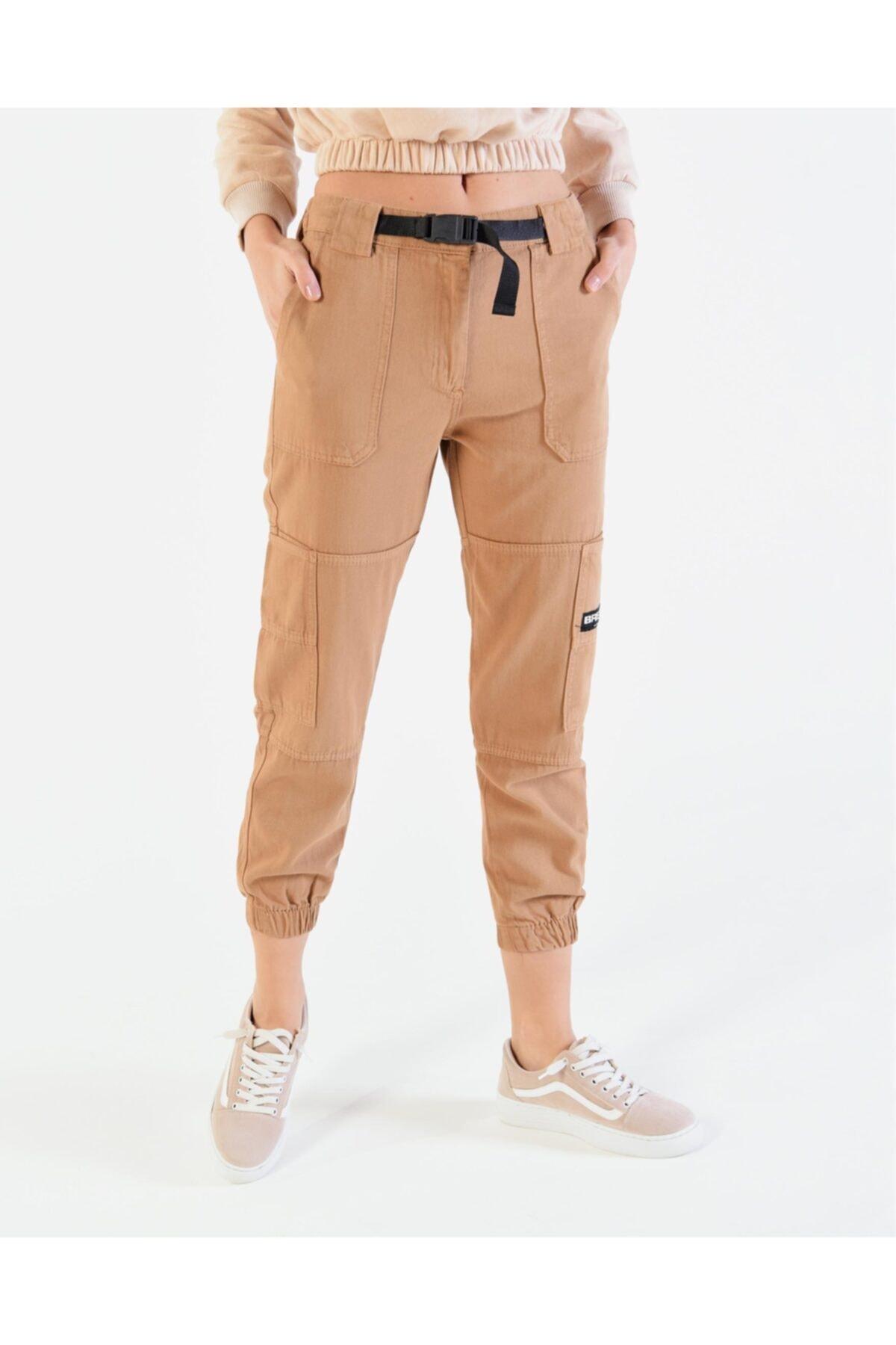 Vision Kadın Cep Detaylı Kargo Pantolon 1
