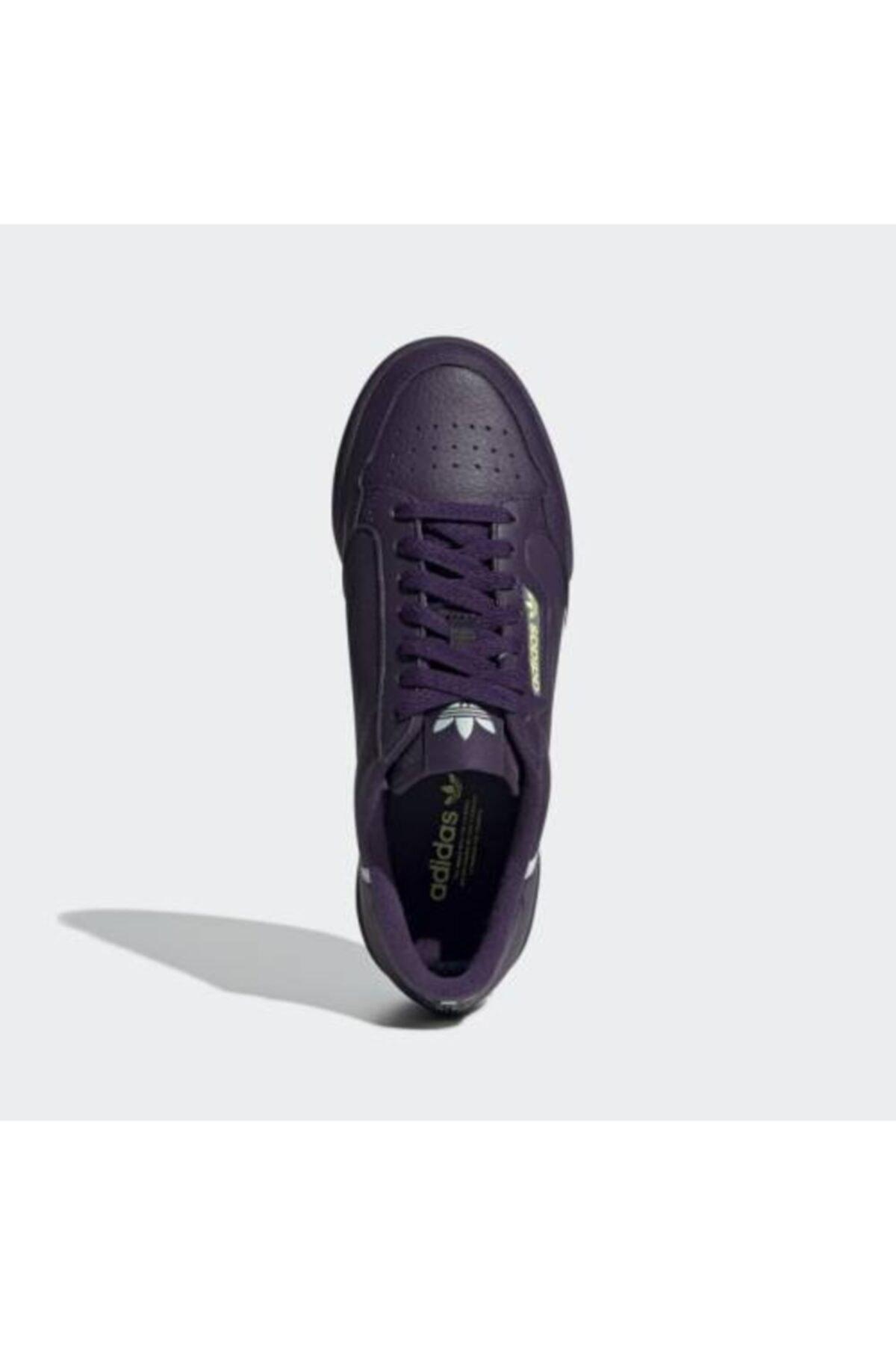 adidas Unisex Mor Continental 80 W Günlük Spor Ayakkabı 2
