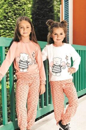 Lohusa Sepeti Kız Çocuk Yıldızlı Pijama Takımı 0008