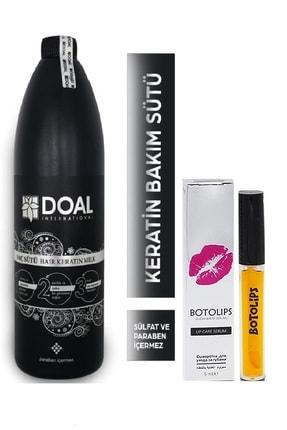 DOAL Keratin Bakım Sütü 1000 Ml + Dudak Dolgunlaştırıcı Lipstick