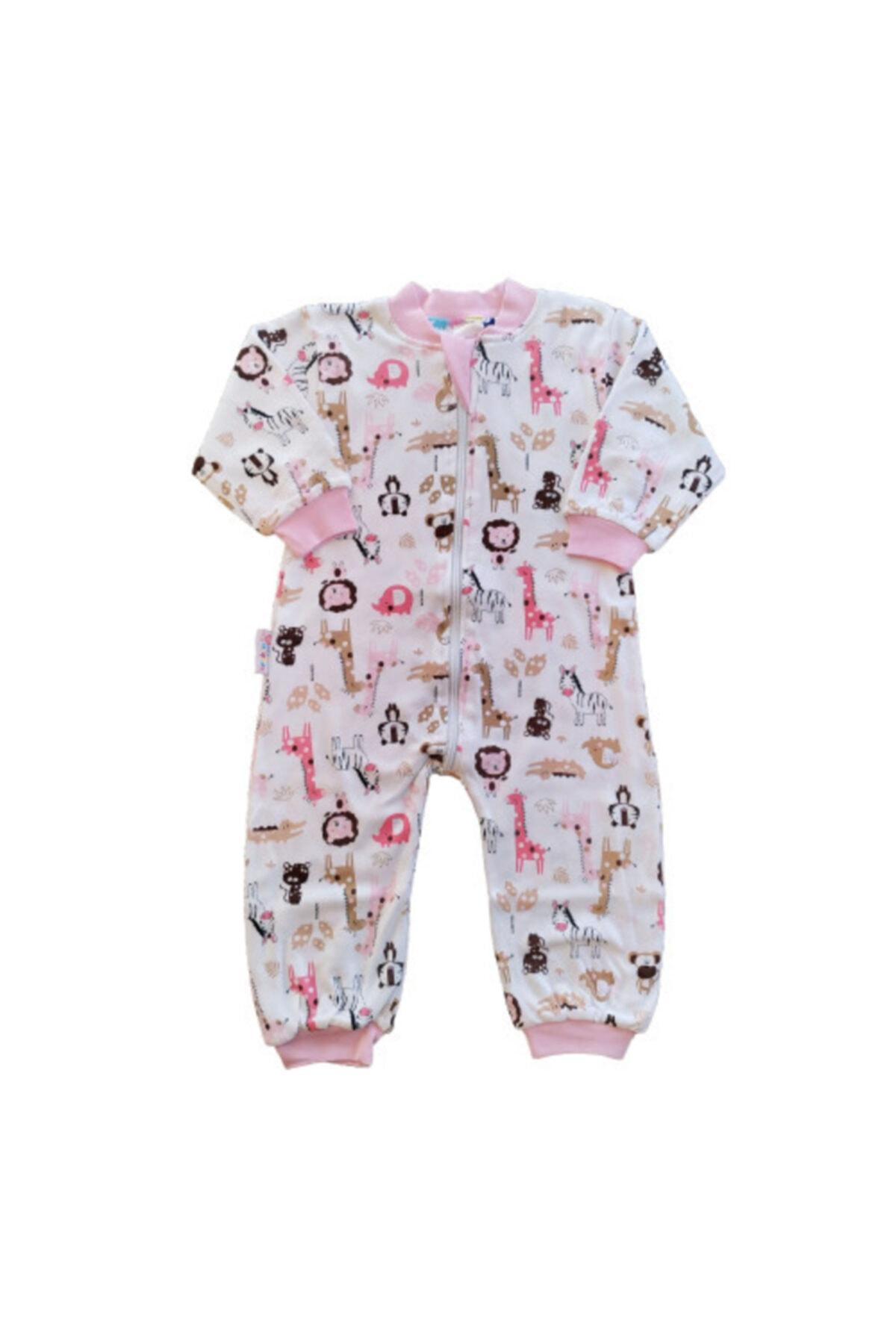 Seçkin Baby Şkr Çift Yön Desenli Ve Kullanımlı %100 Pamuklu Kız Ve Erkek Bebek Çocuk Uyku Tulumu 1