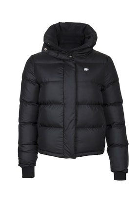 Bad Bear Kadın Siyah Winter Bloom Puffer Mont