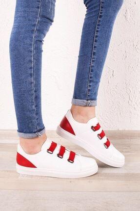 Zafoni Kadın Kırmızı Spor Ayakkabı