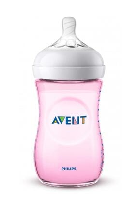 Philips Avent Avent Natural Pp Biberon Pembe 260ml 1 Ay+