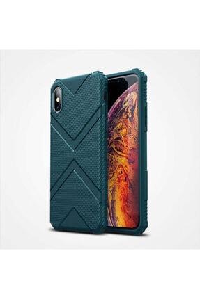 Zipax Iphone X Yeşil Hank Silikon Kılıf