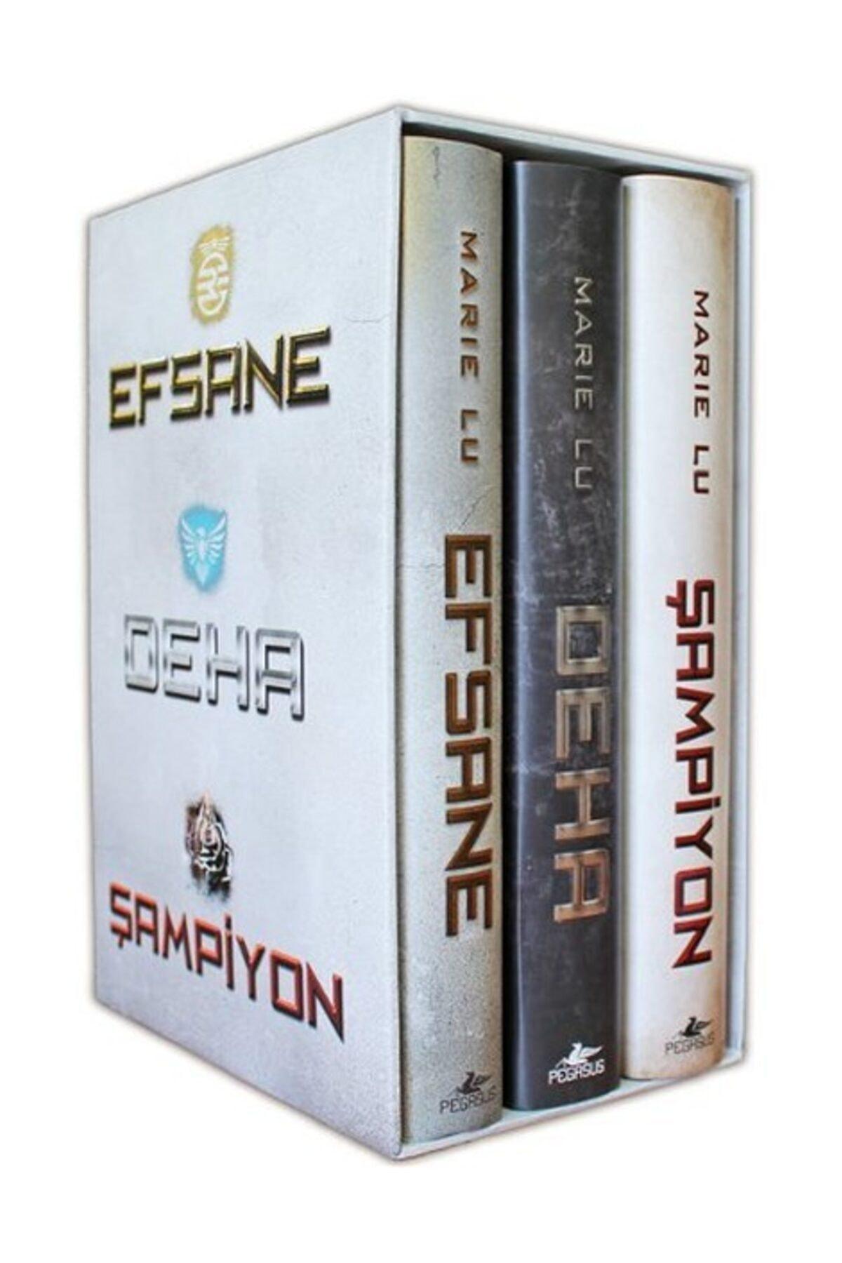 Pegasus Yayınları Efsane Serisi Kutulu Set (3 Kitap Ciltli) - Marie Lu 1